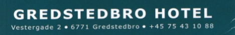 Gredstedbro Hotel 468x70